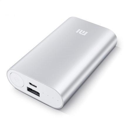 Универсальный внешний аккумулятор Xiaomi Mi Power Bank 2 10000 mAh, 2.4 А, USBx1 металл SilverУниверсальные внешние аккумуляторы<br>Универсальный внешний аккумулятор Xiaomi Mi Power Bank 2 10000 mAh, 2.4 А, USBx1 металл Silver<br>