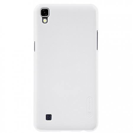 Чехол-накладка Nillkin Frosted Shield для LG X Power (K220DS) пластиковый белый