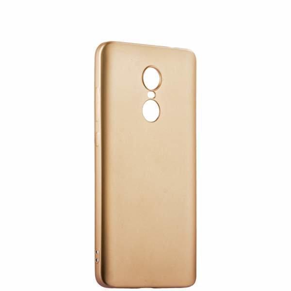 Чехол-накладка j-case 0.5mm THIN для Xiaomi Redmi Note 4 силикон золотойдля Xiaomi<br>Чехол-накладка j-case 0.5mm THIN для Xiaomi Redmi Note 4 силикон золотой<br>