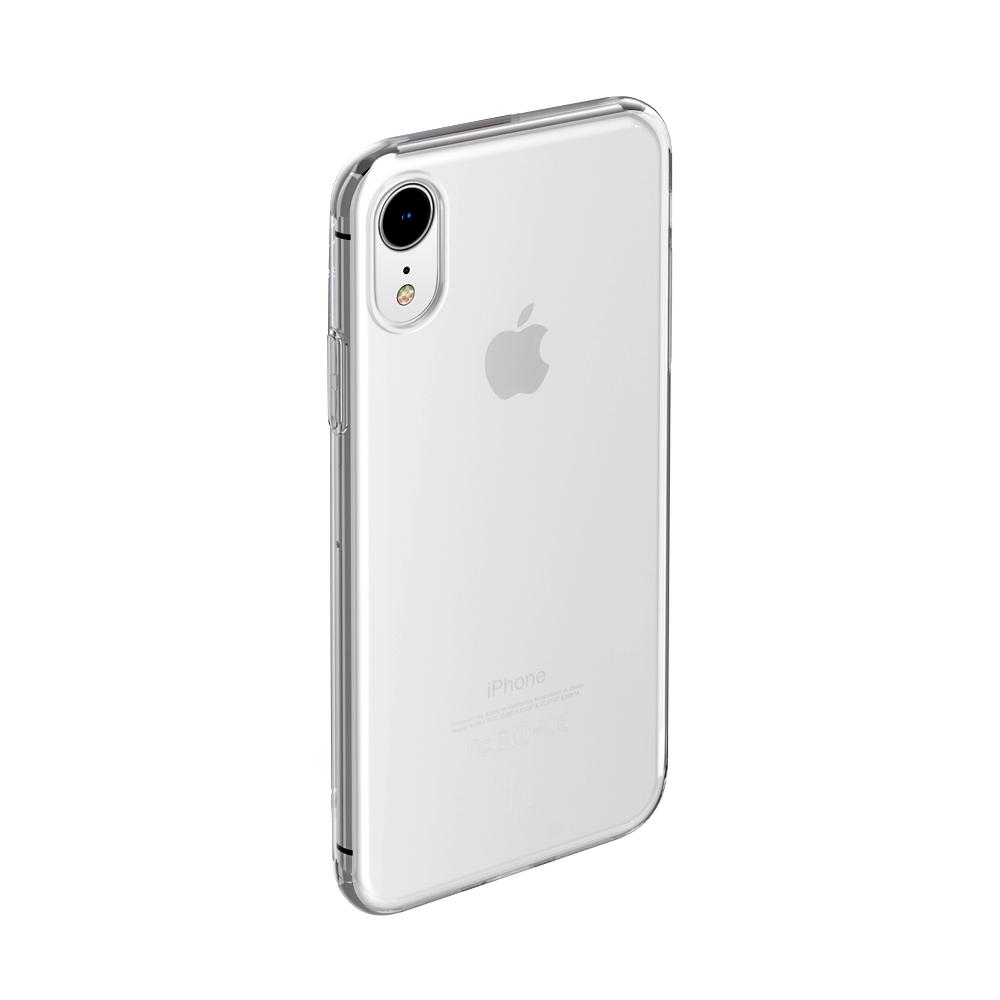 Купить Чехол-накладка для Apple iPhone XR силиконовый прозрачный