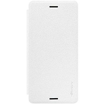 Чехол-книжка Nillkin Sparkle Series для Sony Xperia X Performance пластик-полиуретан (белый)для Sony<br>Чехол-книжка Nillkin Sparkle Series для Sony Xperia X Performance пластик-полиуретан (белый)<br>