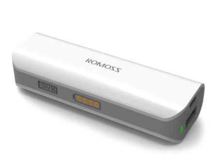 Внешний аккумулятор Romoss Solo 1 (PH10-423-01), 12 000mAh,USBx1 (5V 1A) (белый)