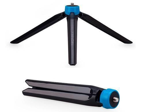 Купить со скидкой Монопод для смартфона Momax Selfi Hero KMS8 Bluetooth (+ трипод) от 30см до 150см вес 340гр синий