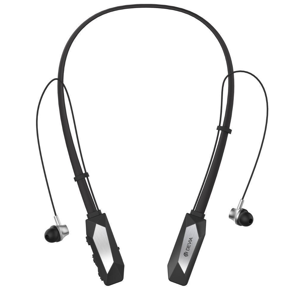 Купить Беспроводные Bluetooth cтерео-наушники Devia Kucky Neckband Sport (Black)