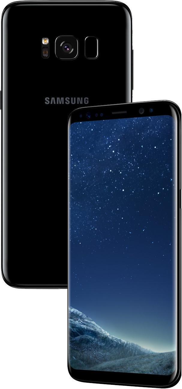 Купить Samsung Galaxy S8 (SM-G950) Midnight Black (SM-G950FZKDSER)