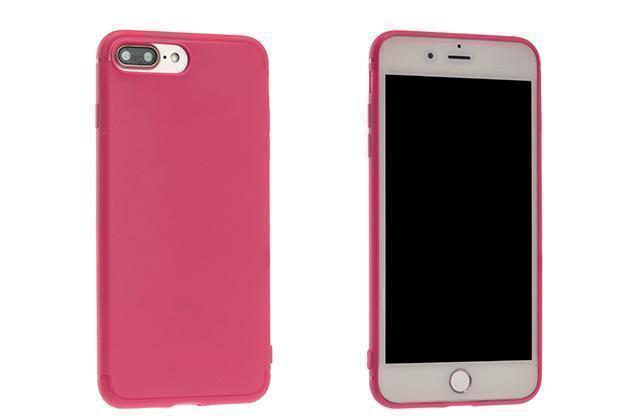 Чехол-накладка Rock Jello Series для Apple iPhone 7 Plus/8 Plus силикон (Rose Red) (RCP1144)для iPhone 7 Plus/8 Plus<br>Чехол-накладка Rock Jello Series для Apple iPhone 7 Plus/8 Plus силикон (Rose Red) (RCP1144)<br>