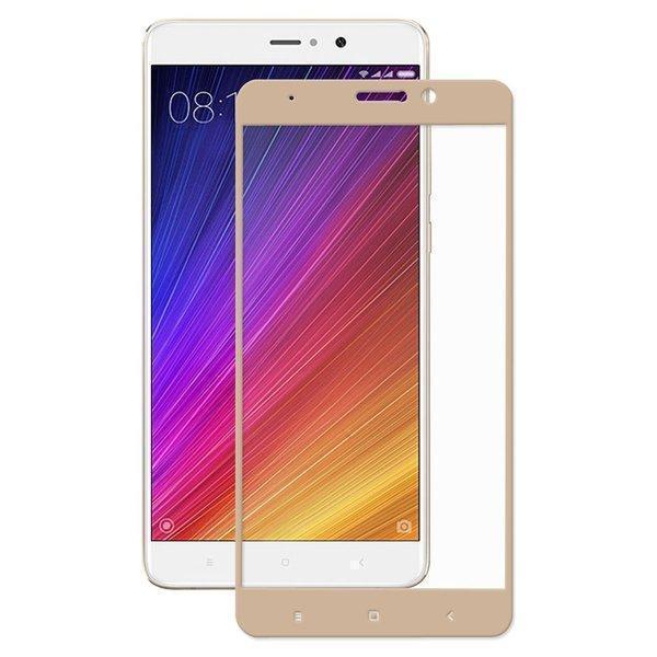 Защитное стекло Glass PRO (Full) Screen для Xiaomi Mi5S Plus цветное золотая рамкадля Xiaomi<br>Защитное стекло Glass PRO (Full) Screen для Xiaomi Mi5S Plus цветное золотая рамка<br>