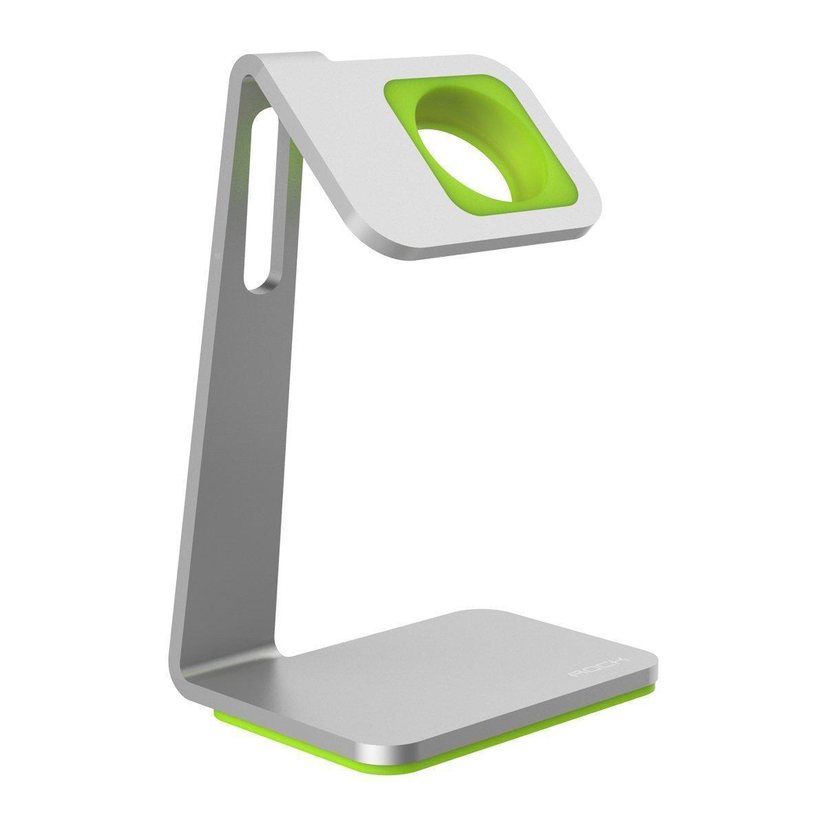 Док-станция Rock Table Stand для Apple Watch 38mm / Watch 42mm Silver/Green
