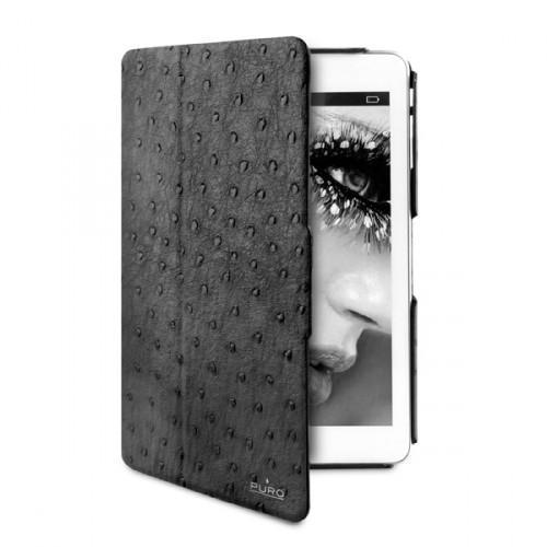 Чехол-книжка Puro Safari Booklet для Apple iPad mini 1/2/3 (искусственная кожа с подставкой) черныйдля Apple iPad mini 1/2/3<br>Чехол-книжка Puro Safari Booklet для Apple iPad mini 1/2/3 (искусственная кожа с подставкой) черный<br>