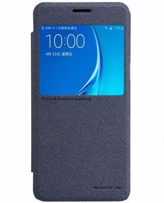Чехол-книжка Nillkin Sparkle Series для Samsung Galaxy J5 (2016) SM-J510 пластик-полиуретан (черный)для Samsung<br>Чехол-книжка Nillkin Sparkle Series для Samsung Galaxy J5 (2016) SM-J510 пластик-полиуретан (черный)<br>