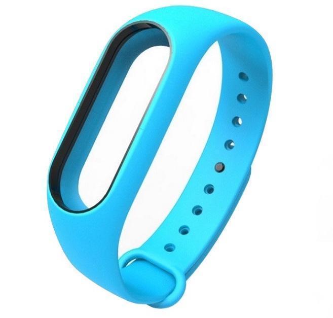 Ремешок силиконовый для фитнес трекера Xiaomi Mi Band 2 blueРемешки и браслеты для умных часов и фитнес-браслетов Xiaomi<br>Ремешок силиконовый для фитнес трекера Xiaomi Mi Band 2 blue<br>