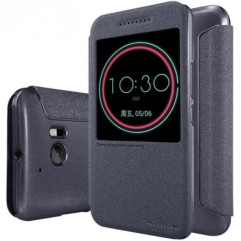 Чехол-книжка Nillkin Sparkle Series для HTC 10 / 10 Lifestyle пластик-полиуретан (черный)для HTC<br>Чехол-книжка Nillkin Sparkle Series для HTC 10 / 10 Lifestyle пластик-полиуретан (черный)<br>