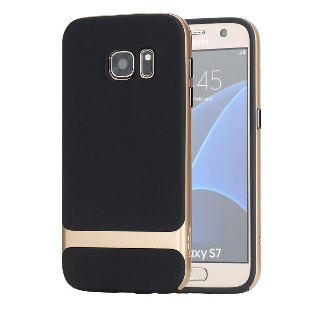 Чехол-накладка Rock Royce Case для Samsung Galaxy S7 Shampagne Goldдля Samsung<br>Чехол-накладка Rock Royce Case для Samsung Galaxy S7 Shampagne Gold<br>