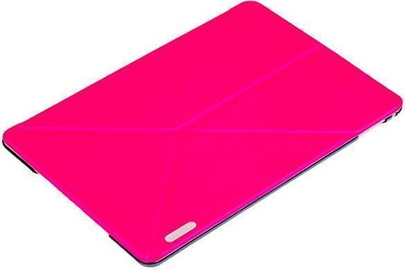 Чехол-книжка Birscon Simple Series для Apple iPad mini 1/2/3 (искусственная кожа с подставкой) Rose