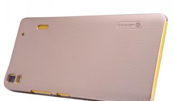 Чехол-накладка Nillkin Frosted Shield для Lenovo A7000 (пластиковый) Goldдля Lenovo<br>Чехол-накладка Nillkin Frosted Shield для Lenovo A7000 (пластиковый) Gold<br>