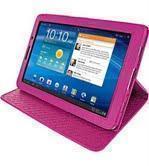 Чехол-книжка для Samsung Galaxy Tab 7.7 (GT-P6800 / GT-P6810) розовый