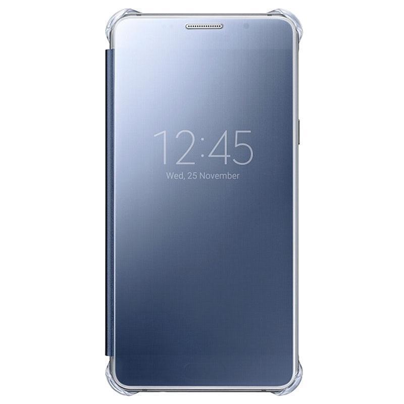 Чехол-книжка Samsung Clear View Cover для Galaxy A5 (2016) поликарбонат,полиуретан чёрный EF-ZA510CBдля Samsung<br>Чехол-книжка Samsung Clear View Cover для Galaxy A5 (2016) поликарбонат,полиуретан чёрный EF-ZA510CBEGRU<br>