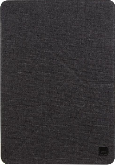 Купить Чехол-книжка Uniq Yorker Kanvas для iPad Pro 12.9 пластик/текстиль (черный)