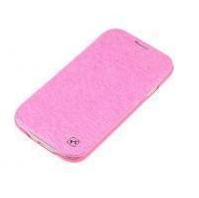 Чехол-накладка Kuchi для Samsung Galaxy S4 искусственная кожа (розовый питон) фото