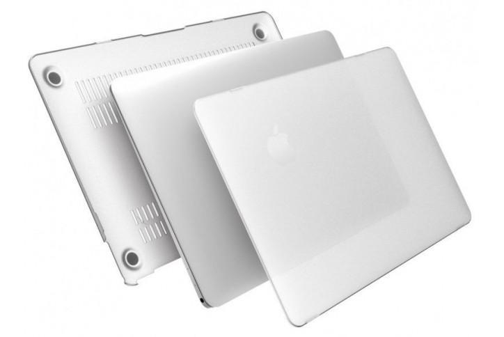 Чехол-накладка BTA-Workshop для Apple MacBook Pro Retina 13 матовая прозрачно-белаядля Apple MacBook Pro 13 with Retina display<br>Чехол-накладка BTA-Workshop для Apple MacBook Pro Retina 13 матовая прозрачно-белая<br>