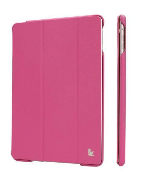 Чехол-книжка JisonCase Executive для Apple iPad Air (натуральная кожа с подставкой) roseдля Apple iPad Air<br>Чехол-книжка JisonCase Executive для Apple iPad Air (натуральная кожа с подставкой) rose<br>