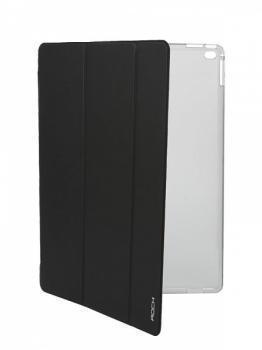 Чехол-книжка Rock Phantom Series для Apple iPad Pro 12.9 (силикон полиуретан с подставкой) blackдля Apple iPad Pro 12.9<br>Чехол-книжка Rock Phantom Series для Apple iPad Pro 12.9 (силикон полиуретан с подставкой) black<br>