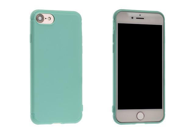 Чехол-накладка Rock Jello Series для Apple iPhone 7/8 силикон (Light Mint) (RCP1144)для iPhone 7/8<br>Чехол-накладка Rock Jello Series для Apple iPhone 7/8 силикон (Light Mint) (RCP1144)<br>