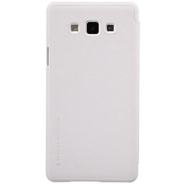 Чехол-книжка Nillkin Sparkle Series для Samsung Galaxy A7 (SM-A700) пластик-полиуретан (белый)