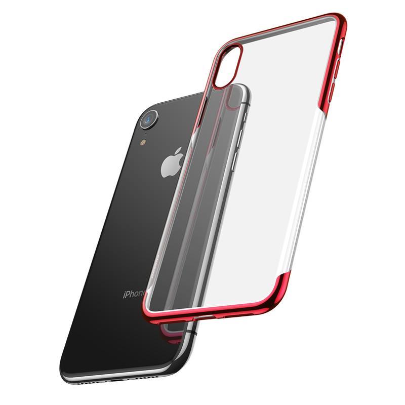 Купить Чехол-накладка Baseus Glitter Case для Apple iPhone Xs Max пластиковый (красный)