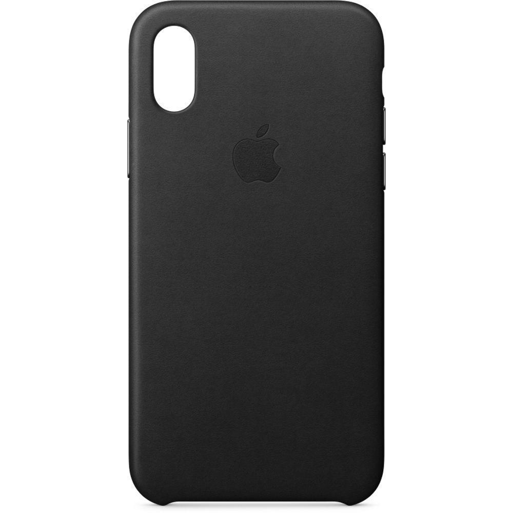 Чехол-накладка Apple Leather Case для iPhone X натуральная кожа Black (MQTD2ZM/A)для iPhone X<br>Чехол-накладка Apple Leather Case для iPhone X натуральная кожа Black (MQTD2ZM/A)<br>