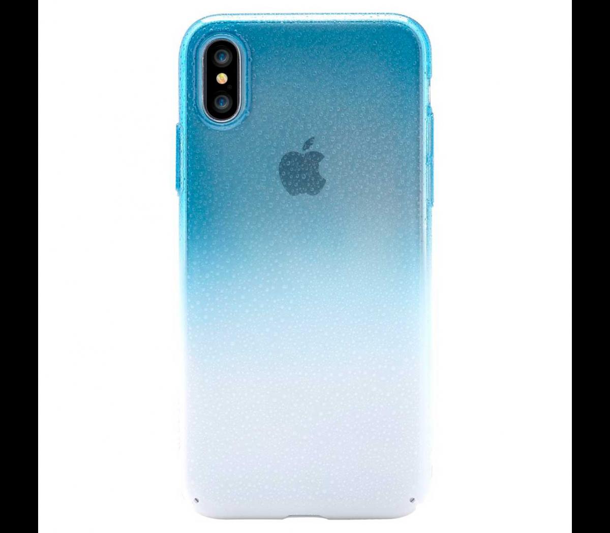 Чехол-накладка Devia Amber case для Apple iPhone X (10) силиконовый blue (300844)для iPhone X<br>Чехол-накладка Devia Amber case для Apple iPhone X (10) силиконовый blue (300844)<br>