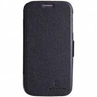 Чехол-книжка Nillkin Fresh leather case для Lenovo A706 искусственная кожа (Black) фото