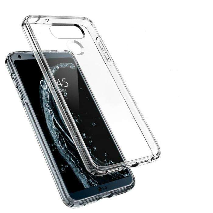 Чехол-накладка Spigen Ultra Hybrid для LG G6 кристально-прозрачный (SGP A21CS21233)