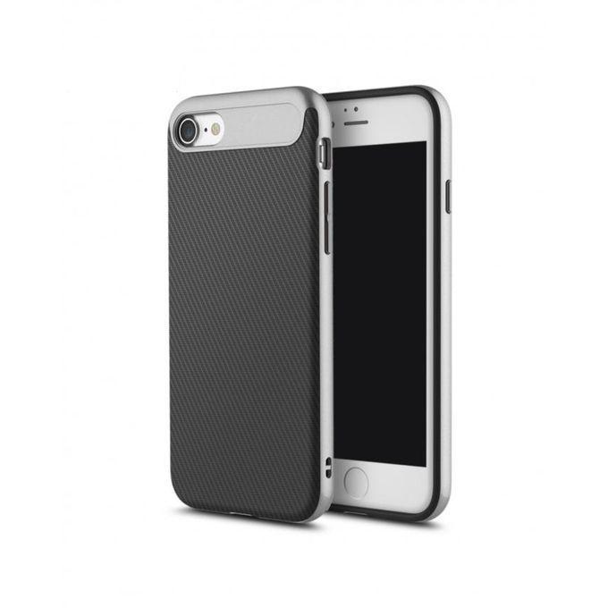 Чехол-накладка Rock Vision Series для Apple iPhone 7/8 силикон-пластик (Grey)для iPhone 7/8<br>Чехол-накладка Rock Vision Series для Apple iPhone 7/8 силикон-пластик (Grey)<br>