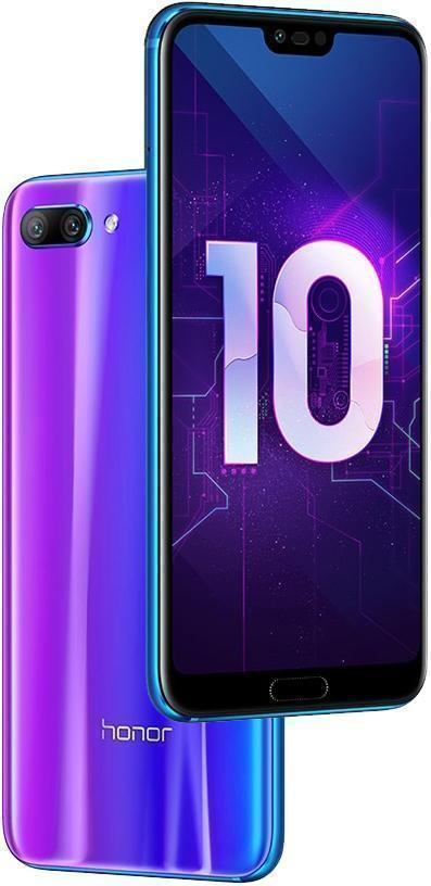 Huawei Honor 10 4/64GB (Мерцающий синий) (COL-L29)