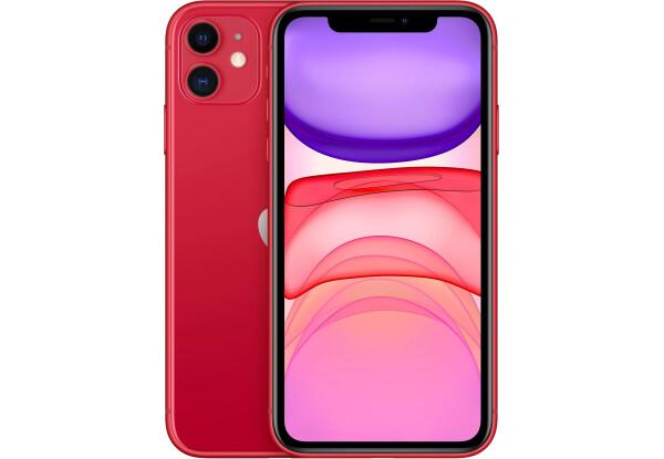 Apple iPhone 11 64Gb (Red) (MHDD3RU/A) (новая комплектация)