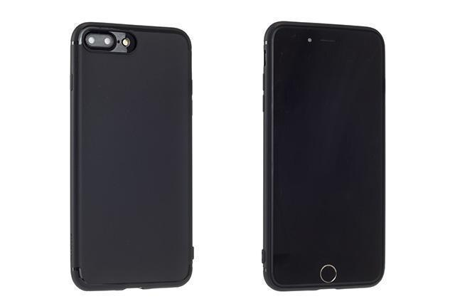 Чехол-накладка Rock Jello Series для Apple iPhone 7 Plus/8 Plus силикон (Light Black) (RCP1144)для iPhone 7 Plus/8 Plus<br>Чехол-накладка Rock Jello Series для Apple iPhone 7 Plus/8 Plus силикон (Light Black) (RCP1144)<br>