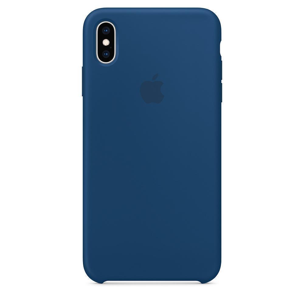 Купить Чехол-накладка Silicone Case Series для Apple iPhone XS Max синий
