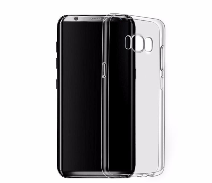 Чехол-накладка Hoco Light Series для Samsung Galaxy S8 (SM-G950) силиконовый прозрачно-черныйдля Samsung<br>Чехол-накладка Hoco Light Series для Samsung Galaxy S8 (SM-G950) силиконовый прозрачно-черный<br>