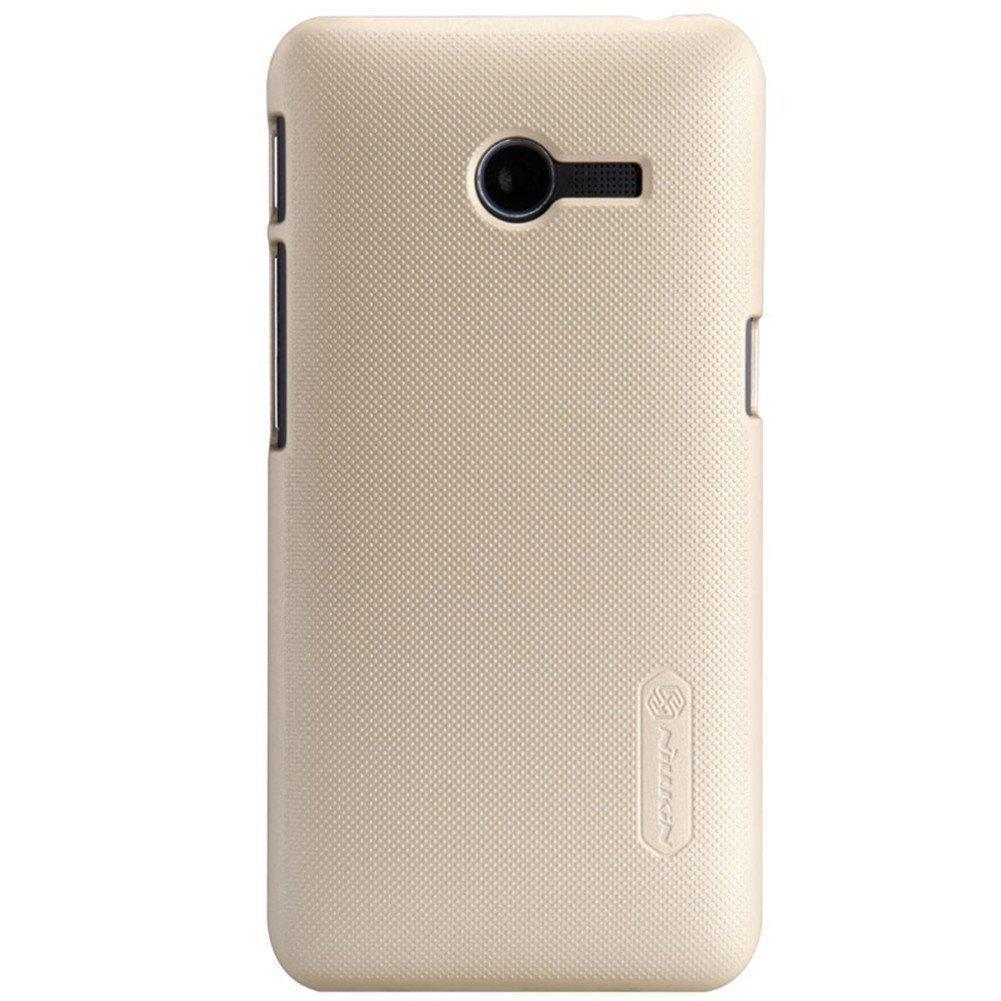 Чехол-накладка Nillkin Frosted Shield для Asus Zenfone 4 A400CG пластиковый Goldдля ASUS<br>Чехол-накладка Nillkin Frosted Shield для Asus Zenfone 4 A400CG пластиковый Gold<br>