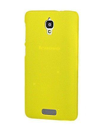 Чехол-накладка для Lenovo S660 силиконовый желтыйдля Lenovo<br>Чехол-накладка для Lenovo S660 силиконовый желтый<br>
