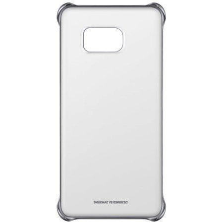 Купить Чехол-накладка Samsung Clear Cover для Galaxy S6 Edge пластик черный