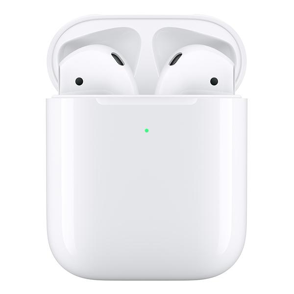 Беспроводная гарнитура Apple AirPods 2 (беспроводная зарядка чехла) (MRXJ2)
