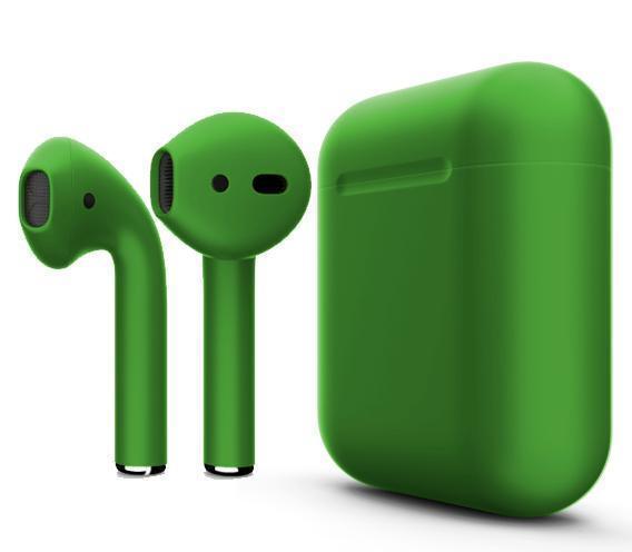 Купить Беспроводные Bluetooth cтерео-наушники Apple AirPods Matte Green