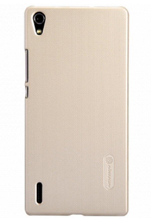 Чехол-накладка Nillkin Frosted Shield для Huawei Ascend P7 пластик золотойдля Huawei<br>Чехол-накладка Nillkin Frosted Shield для Huawei Ascend P7 пластик золотой<br>