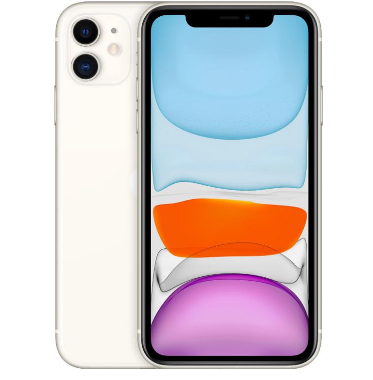 Apple iPhone 11 64Gb (White) (MWLU2RU/A) фото