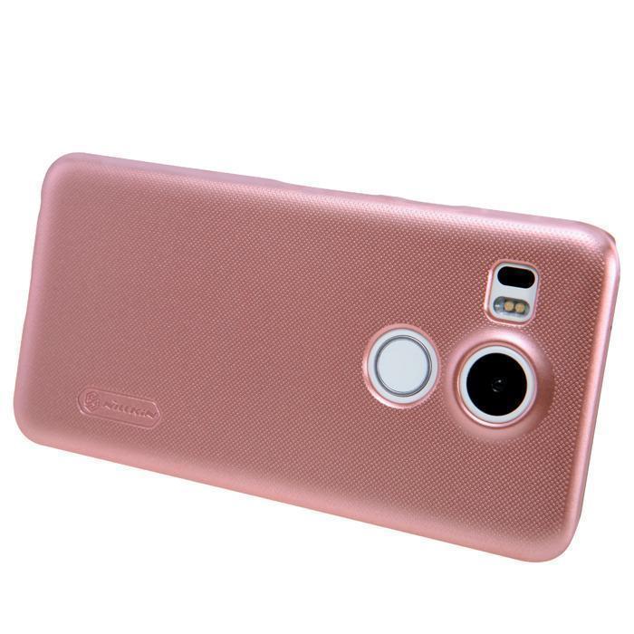 Чехол-накладка Nillkin Frosted Shield для LG Nexus 5X H791 (пластиковый) Rose Goldдля LG<br>Чехол-накладка Nillkin Frosted Shield для LG Nexus 5X H791 (пластиковый) Rose Gold<br>