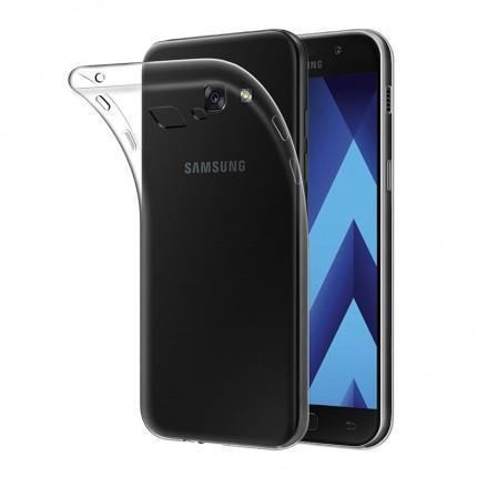 Чехол-накладка для Samsung Galaxy A7 (2017) SM-A720 силиконовый (прозрачный)