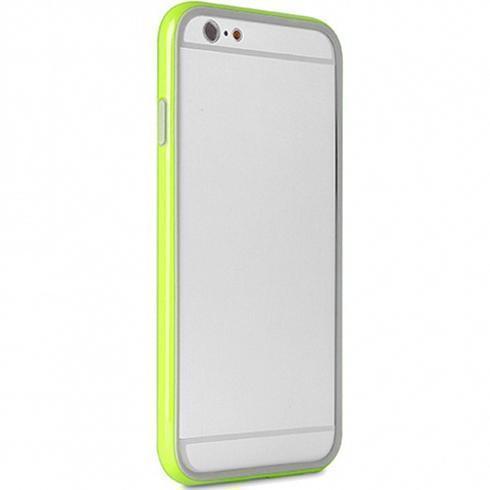 Чехол-бампер Puro Bumper Frame для Apple iPhone 6 Plus/6S Plus салатовый