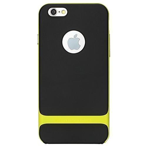 Чехол-накладка Rock Royce Series для Apple iPhone 6/6S резина-пластик черный-зеленыйдля iPhone 6/6S<br>Чехол-накладка Rock Royce Series для Apple iPhone 6/6S резина-пластик черный-зеленый<br>